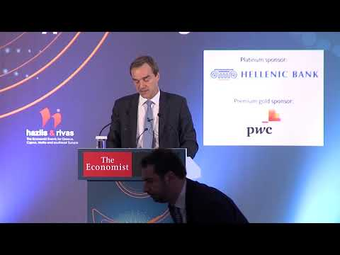 Rolf Strauch at Economist 14th Cyprus Summit