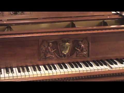 Italian Renaissance Styled Mason & Hamlin Piano