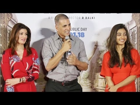 Akshay Kumar's Padman Aaj Se Teri Song Launch | Twinkle Khanna, Radhika Apte