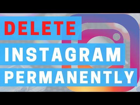 How To Delete Instagram Account 2020   Delete Instagram Permanently