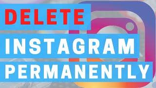 How To Delete Instagram Account 2020 | Delete Instagram Permanently