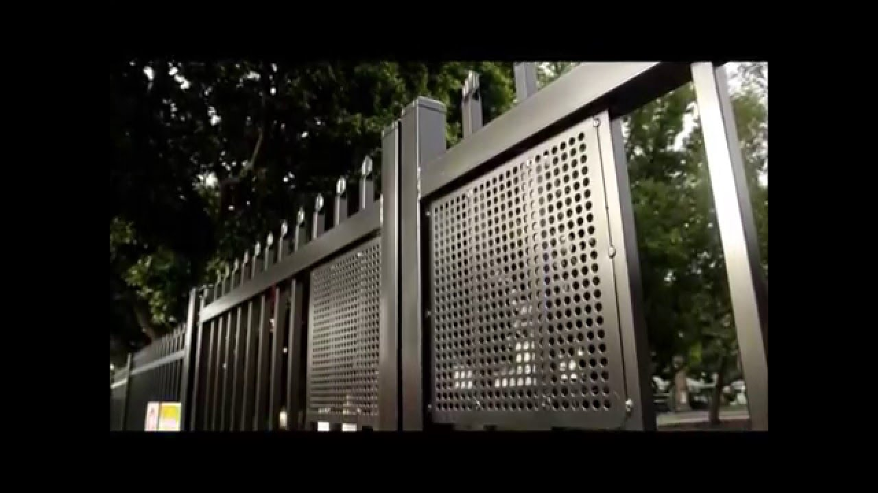 Foxstone Steel Security Fence by FoxstoneFence