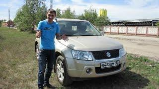 Suzuki Grand Vitara 1,6л 106 л/с 3d Честный тест драйв.(