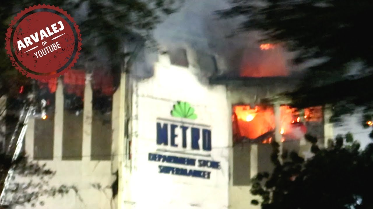 UPDATE JUST NOW: FIRE AT AYALA CENTER MALL CEBU | METRO GAISANO MALL