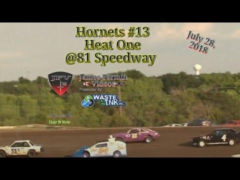 Hornets #13, Heat, 81 Speedway, 07/28/18