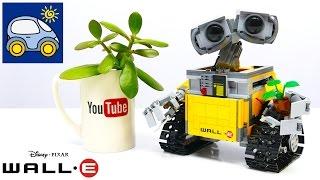 Lego Ideas WALL-E 21303 — как Илья и Картонка подарок для мамы готовили. Lego Ideas Обзор(Однажды папа купил маме подарок — Lego Wall-e — и так увлекся упаковыванием набора в подарочную газетку, что..., 2016-08-20T05:41:40.000Z)