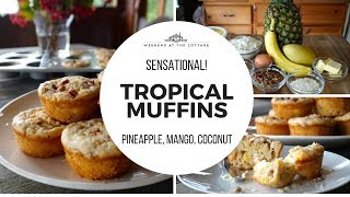 Easy TROPICAL MUFFINS Recipe!