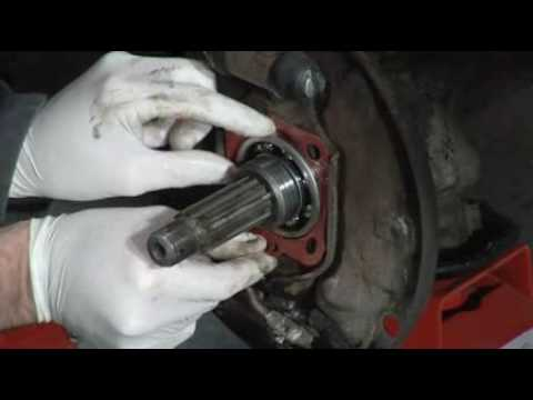 How to replace the rear hub seal on your VW - Final assembly (3/3)