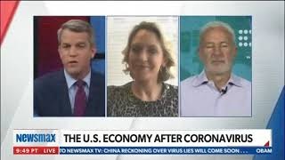Kelly Sadler Joins Newsmax TV To Discuss COVID 19's Economic Impact
