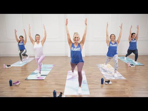 30-Minute Cardio Dance and Yoga Hybrid Take Flight