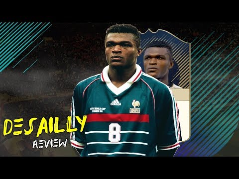 FIFA 18 - PRIME ICON DESAILLY (91) PLAYER REVIEW