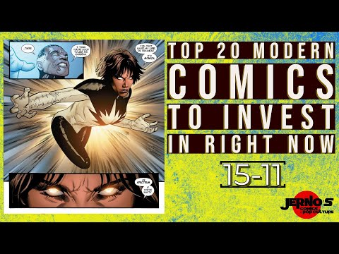 TOP 20 MODERN COMICS TO INVEST IN RIGHT NOW | 15-11