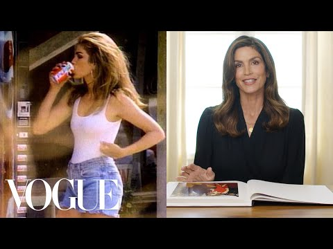 Cindy Crawford Breaks Down 13 Looks From 1989 to Now | Life in Looks | Vogue