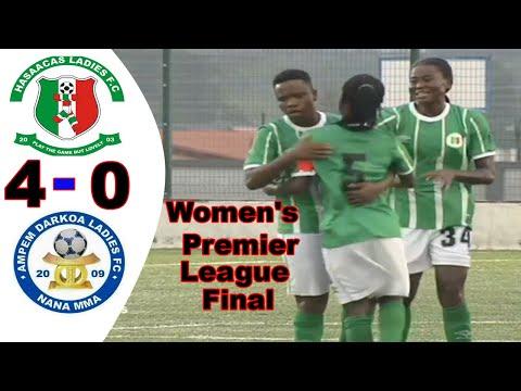 AMPEM DARKO VS HASAACAS LADIES All Goals & Highlights  Ghana Women's Premier League 2020 -2021 Final