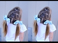 Toddler hairstyle - braided pigtails