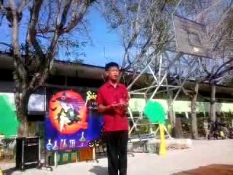 เล่านิทานภาษาอังกฤษ (Story Tellinng) ระดับมัธยมต้น เพื่อไปแข่ง@เพชรบุรี