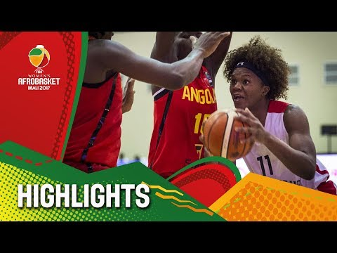 Mozambique v Angola - Highlights - FIBA Women's AfroBasket 2017