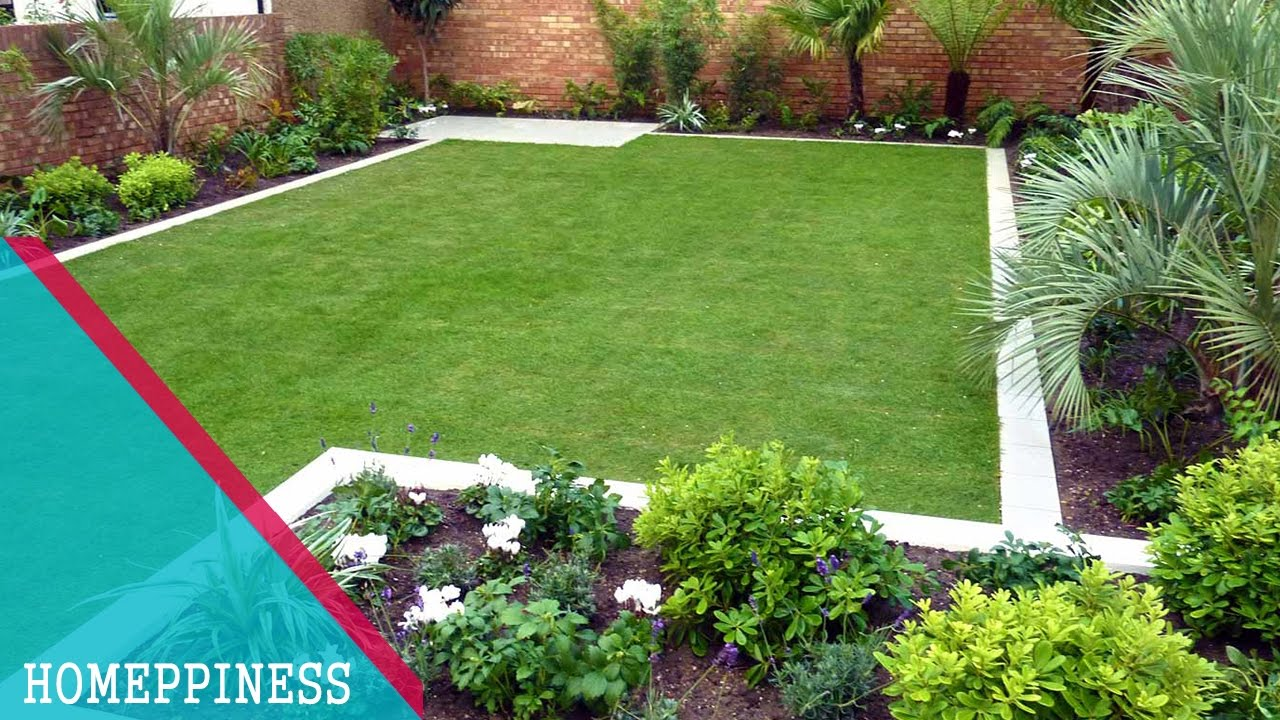 Must watch build your rectangular garden design more for Garden design ideas new build