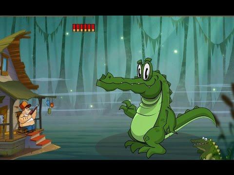 Атака на болоте игра как мультик для детей охота на болоте Swamp Attack