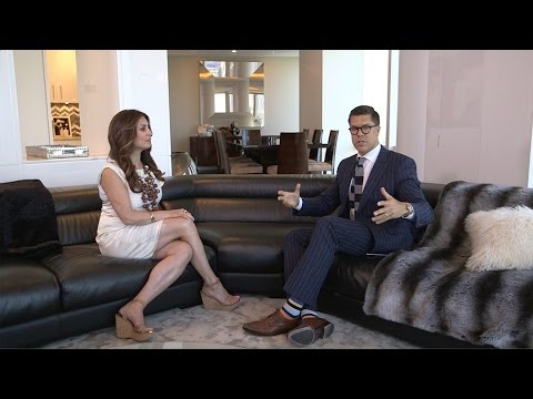 Tour a $28M duplex with Fredrik Eklund of 'Million Dollar Listing'