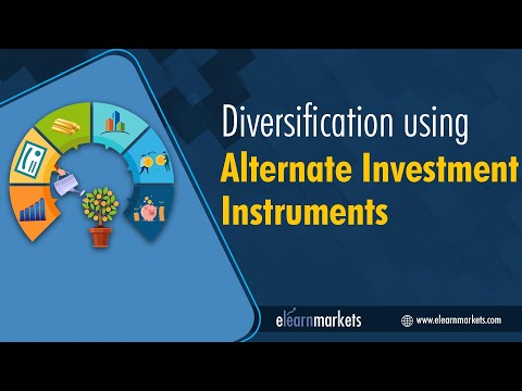 Diversification using Alternate Investment Instruments
