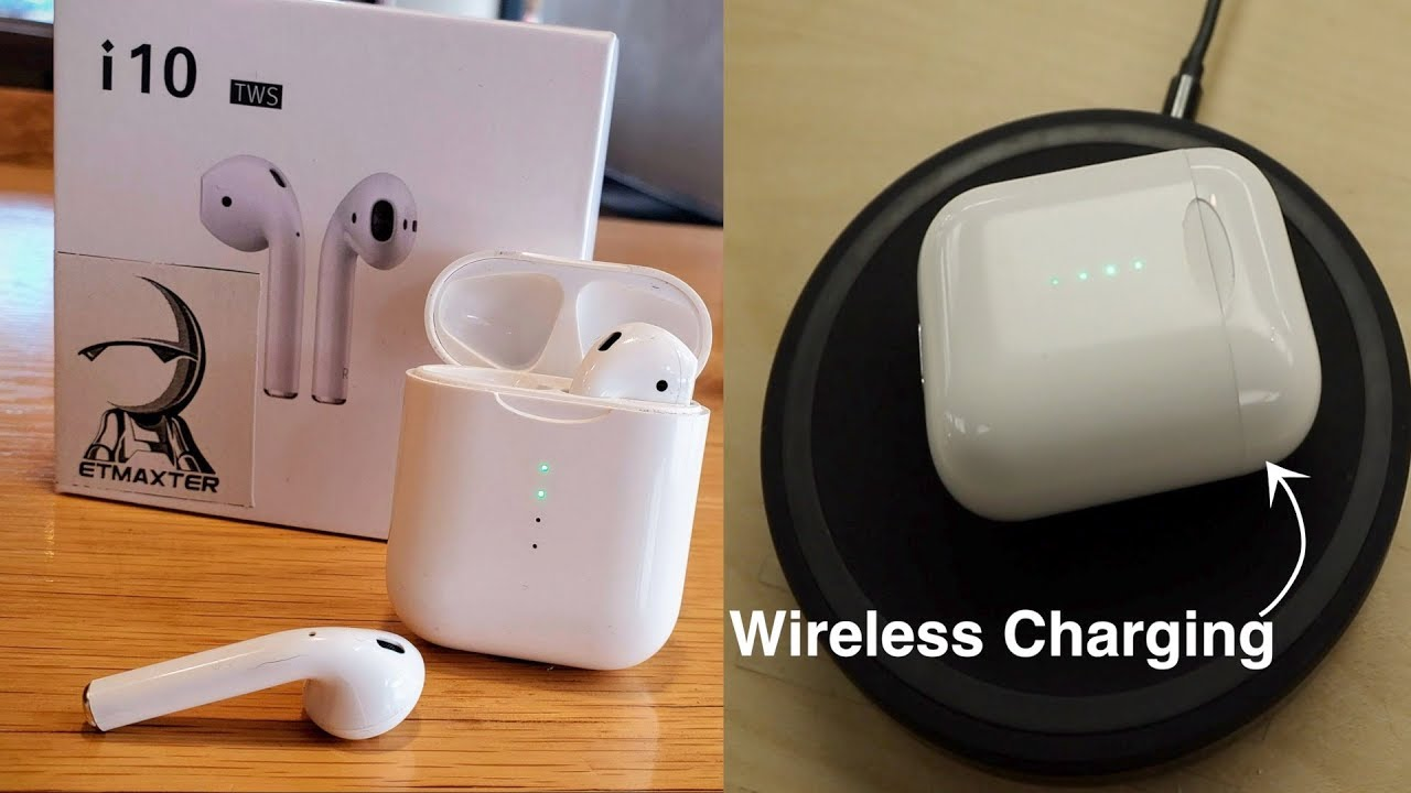 i10 TWS with USB Type C & Wireless Charging