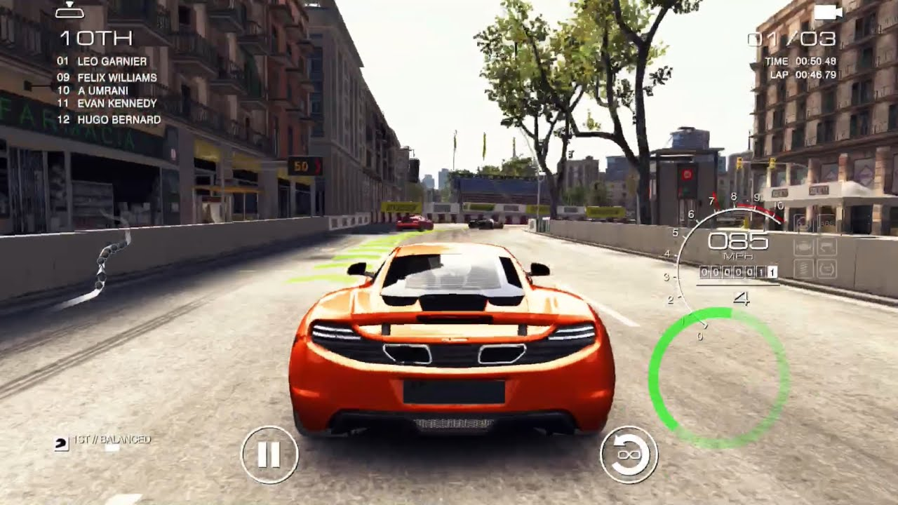 Grid Autosport first gameplay‼️Grid Autosport iPhone 6s Plus gameplay Ep.1 - YouTube