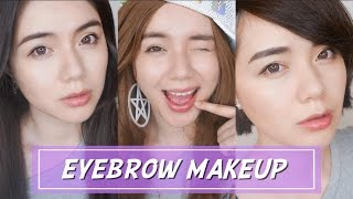 三款最新超人氣畫眉毛教學(業配)|3 Latest In Style Eyebrow Makeup Tutorial|沛莉 Peri Makeup