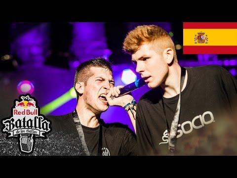 Red Bull Batalla de los Gallos - Final Nacional 2016, Valencia