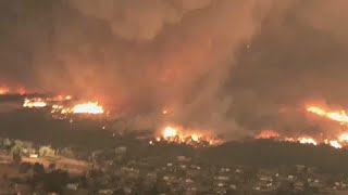 Tűztornádó pusztított Kaliforniában