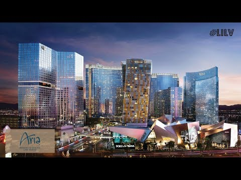 Walking Thru Aria - Las Vegas