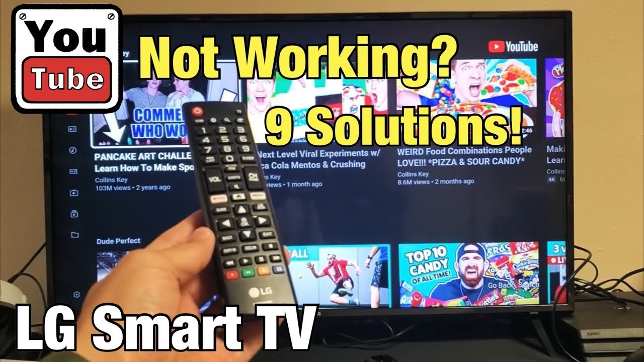 Lg Smart Tv How To Fix Youtube App Not Working 9 Solutions Youtube
