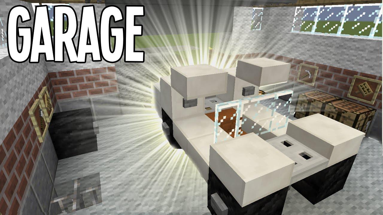 Minecraft Tutorial Garage Youtube