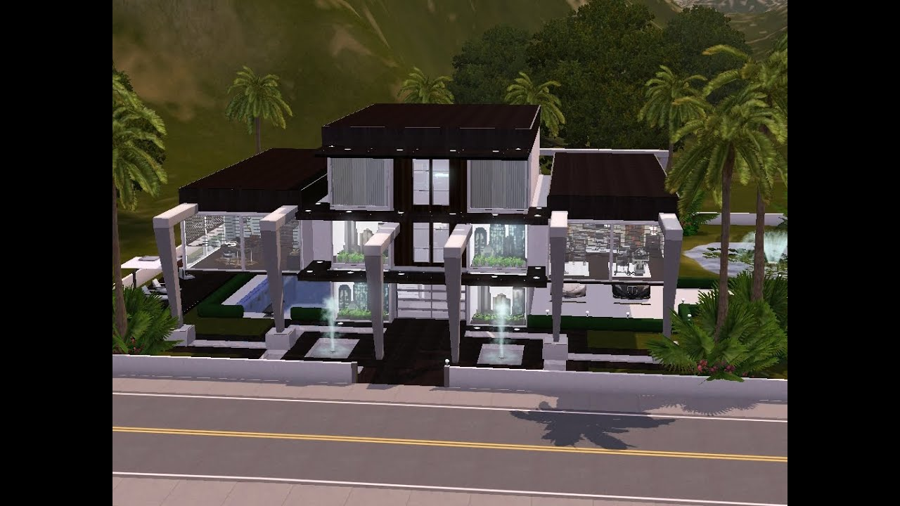 sims 3 haus bauen let 39 s build schwebende r ume youtube. Black Bedroom Furniture Sets. Home Design Ideas