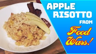 Gambar cover How to make Apple Risotto from Food Wars - |Shokugeki No Soma  | Foodie Friday