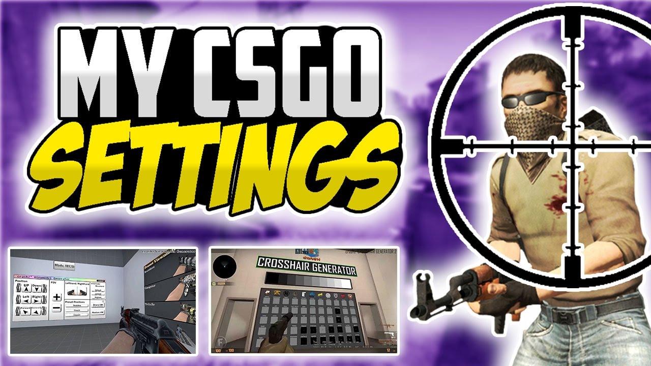 BEST CS:GO Settings! (My Crosshair Viewmodel Video & Game Settings )