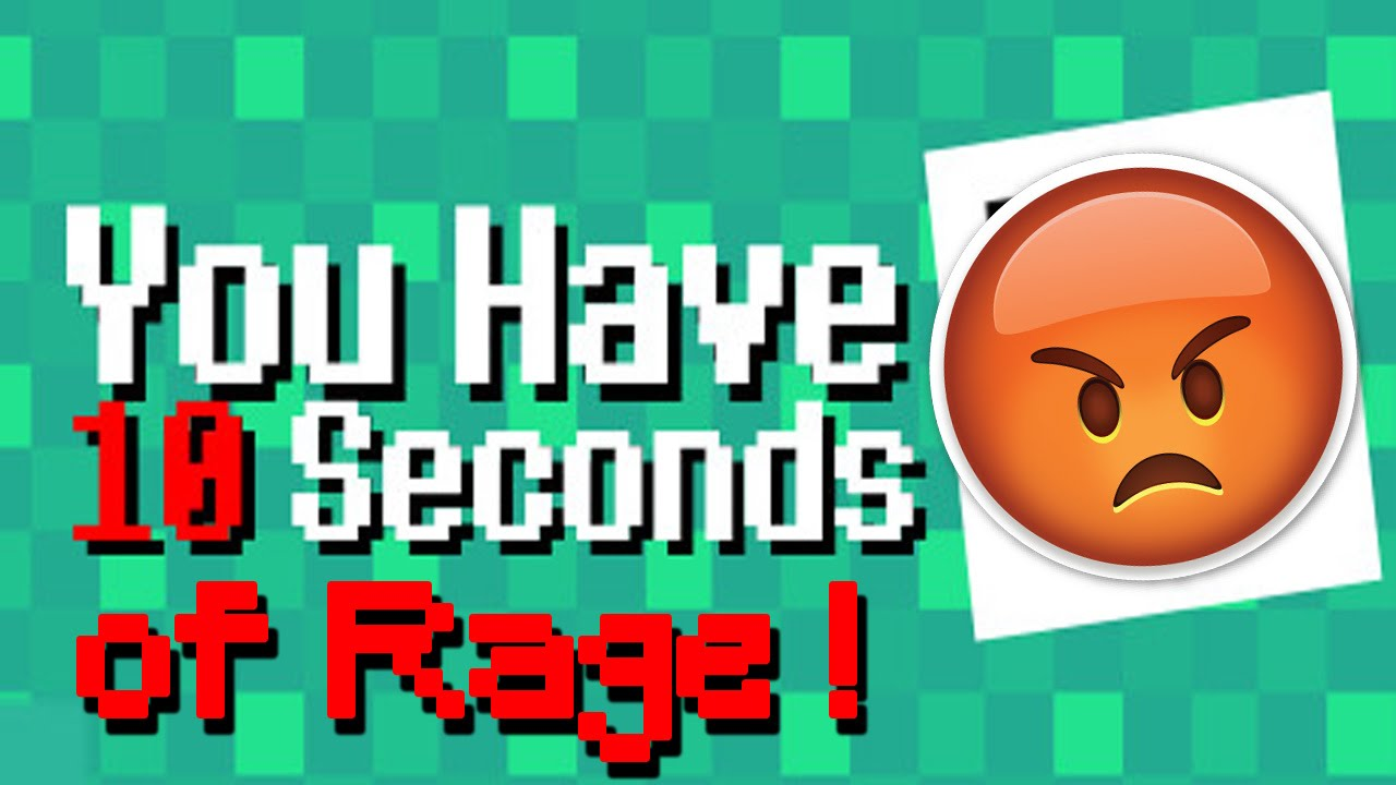 You Have 10 Seconds Gameplay | More like 10 seconds of RAGE ...