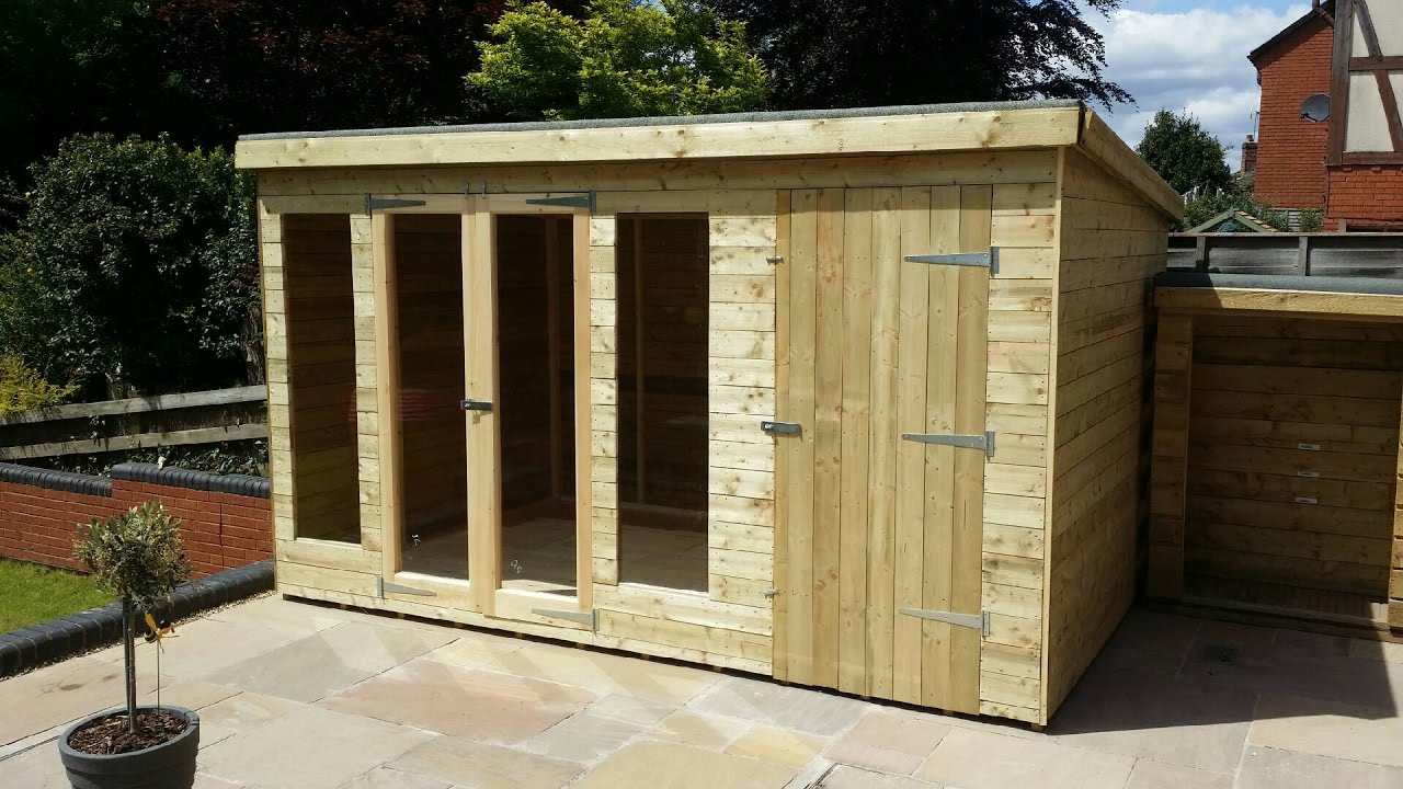 How to build a shed how to build a shed step by step for Building a house step by step