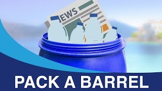 How to pack a barrel - Packing the right way