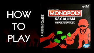 How To Play Monopoly Socialism Board Game By Hasbro (2019)