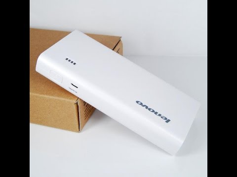 Lenovo Pa 10400 Mah Power Bank Unboxing Review Youtube
