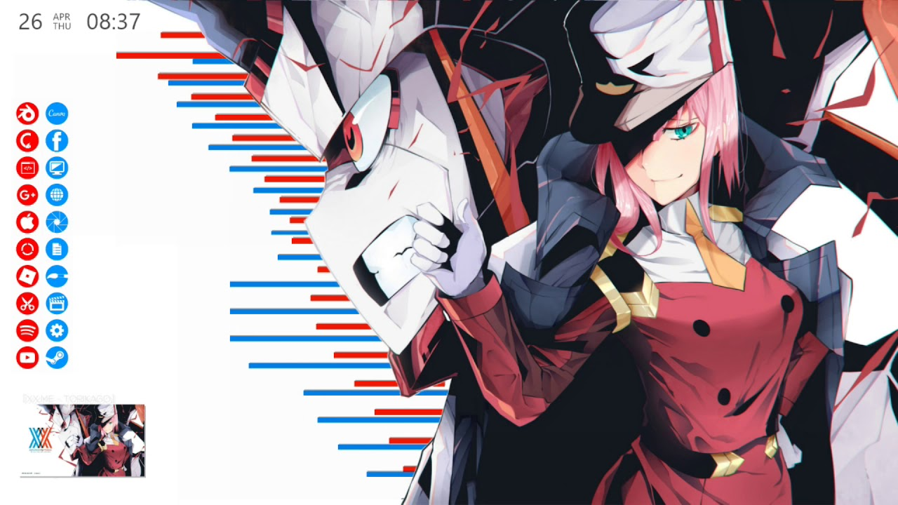 bc1951a9b9  AWESOME  A Darling in the FRANXX inspired Desktop
