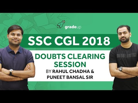 SSC CGL 2018: Important Doubts Related to Notification| Ask your doubt