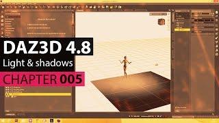 DAZ3D 4.8 - Light & Shadow - Licht & Schatten