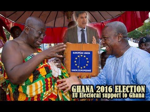 GHANA 2016 ELECTION: EU Electoral support to Ghana