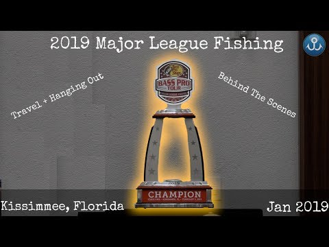 2019 Major League Fishing BPT Kissimmee, Florida Travel VLOG
