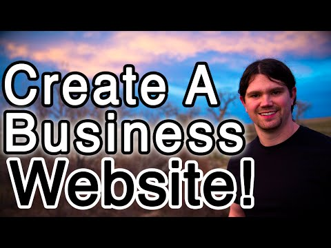 How to Make a BUSINESS Website with WordPress – PROFESSIONAL!