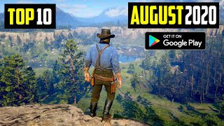 TOP 10 NEW ANDROID GAMES IN AUGUST 2020 | High Graphics (Online/Offline)