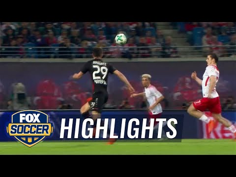 RB Leipzig vs. Bayer Leverkusen | 2017-18 Bundesliga Highlights