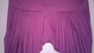 Full Patiala / punjabi salwar cutting and stitching